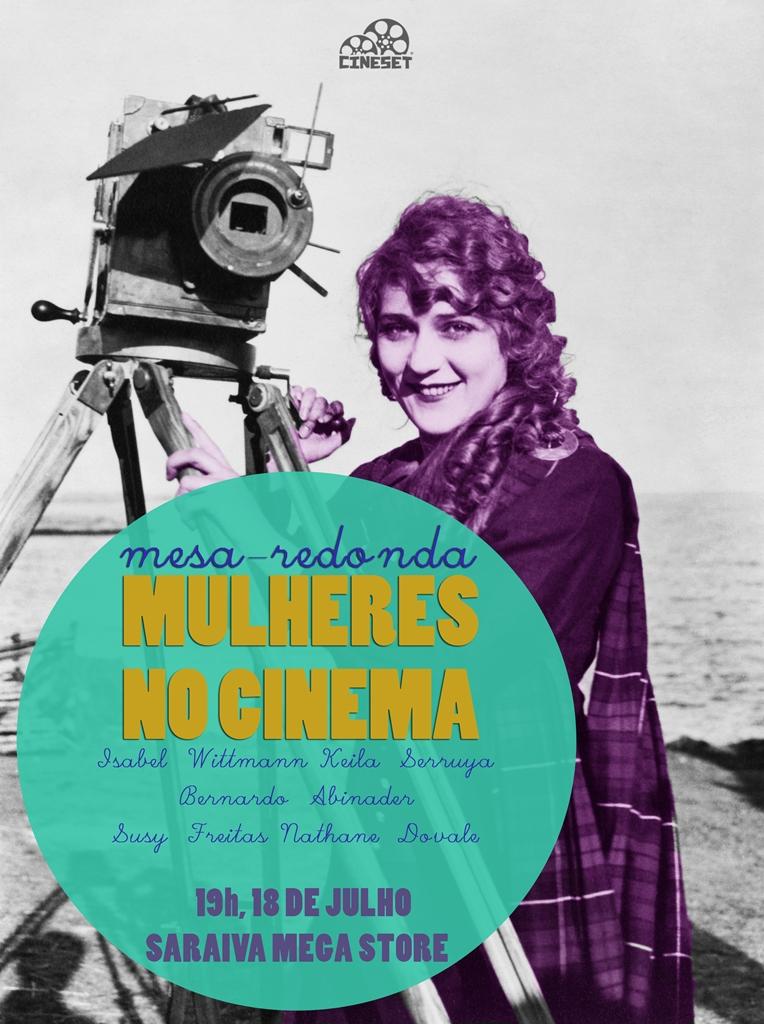 Mesa-redonda Cine Set: Mulheres no Cinema