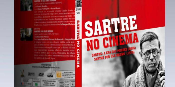 Versátil lança caixa com dois filmes sobre o filósofo francês Jean-Paul Sartre