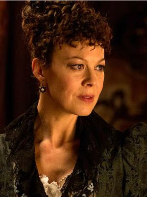 Helen McCrory como Evelyn Poole na segunda temporada de Penny Dreadful