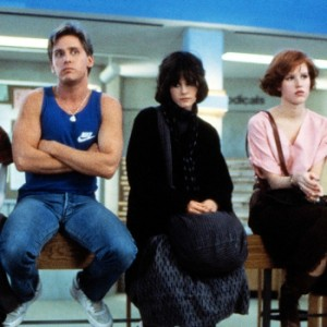 Cena de Clube dos Cinco (The Breakfast Club), de John Hughes