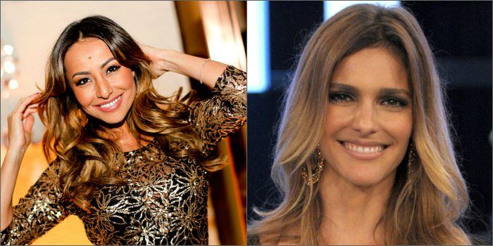 As apresentadoras Sabrina Sato e Fernanda Lima