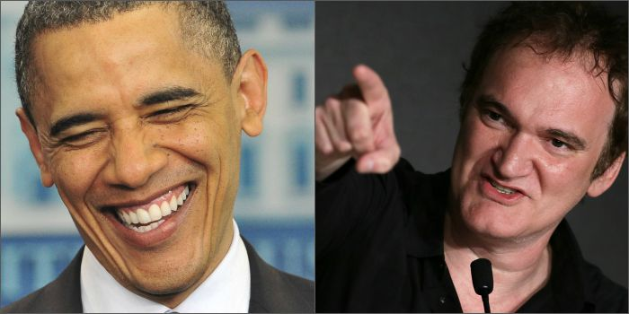 Quentin Tarantino rasga elogios a Barack Obama: 'meu presidente favorito'