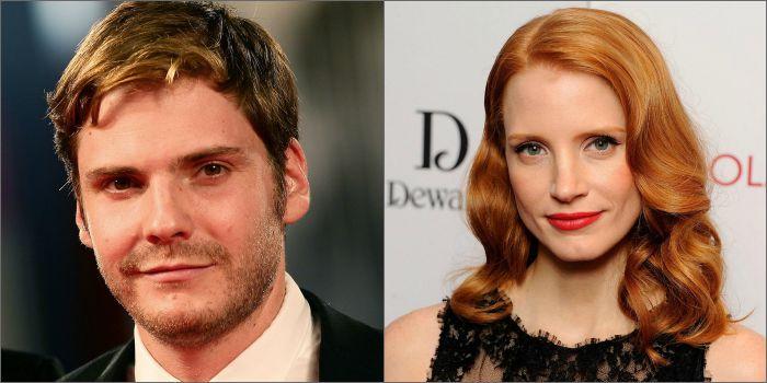 Daniel Bruhl e Jessica Chastain serão protagonistas de drama de guerra