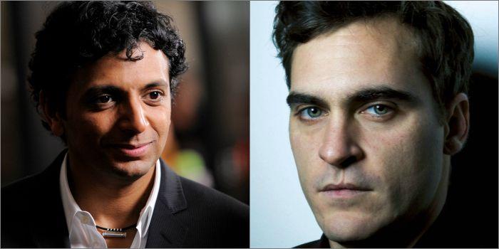 M. Night Shyamalan e Joaquin Phoenix podem retomar parceria de Sinais