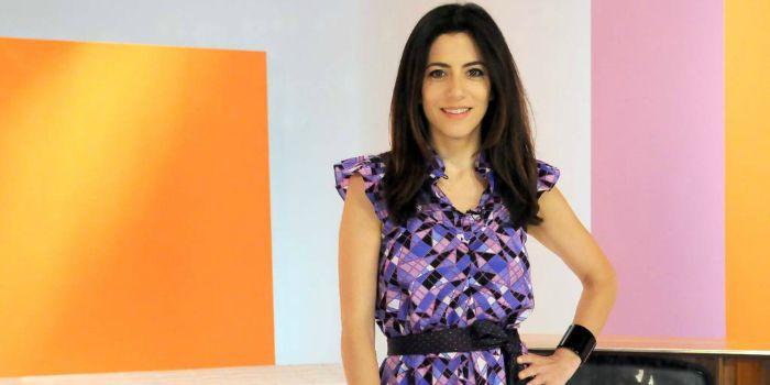 A apresentadora Marina Person
