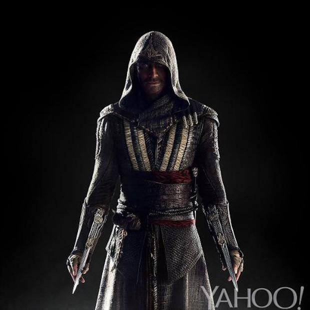 """Imagem promocional de Michael Fassbender como Callum Lynch em """"Assassin's Creed"""""""