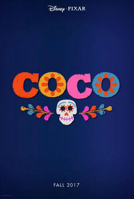 Pôster de Coco, da Disney Pixar