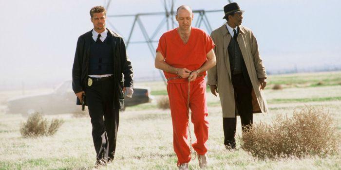 Cena do final de Se7en - Os Sete Crimes Capitais, de David Fincher