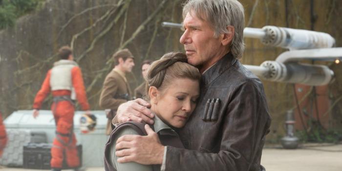 'Brilhante e original', diz Harrison Ford sobre Carrie Fisher
