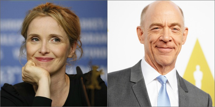 Julie Delpy e J.K Simmons estão no elenco de 'The Bachelors'