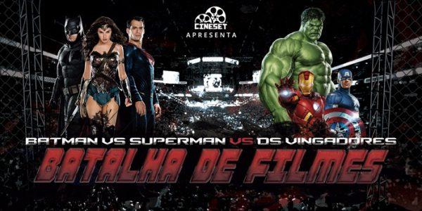 Batalha de Filmes – 'Batman Vs Superman' X 'Os Vingadores'
