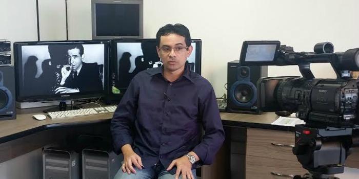 Ivanildo Pereira representa o Cine Set em evento da editora DarkSide