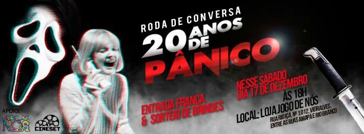 Roda de conversa sobre os 20 anos de 'Pânico' será realizada neste sábado, em Manaus