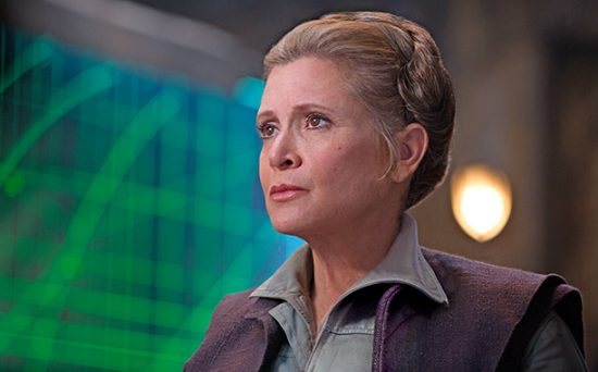 Carrie Fisher está confirmada no elenco do nono episódio de 'Star Wars'
