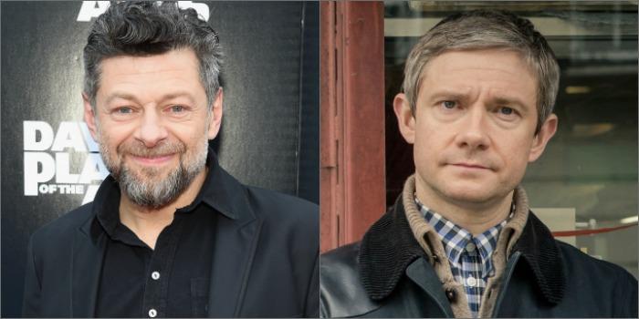 Andy Serkis e Martin Freeman estarão em 'Pantera Negra'
