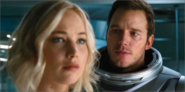 Jennifer Lawrence revela decepção com 'Passageiros'