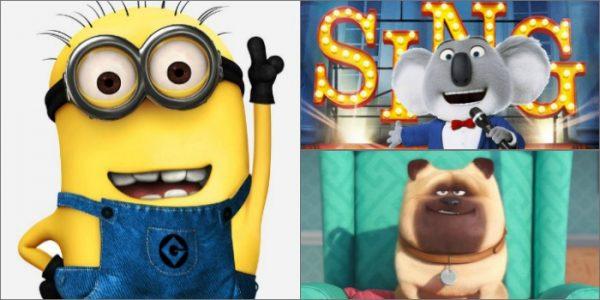 Sequências de 'Minions', 'Sing' e 'Pets' ganham datas de estreias nos cinemas