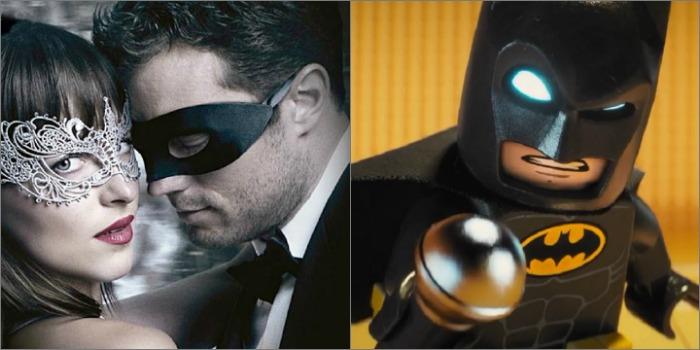 'Cinquenta Tons' e 'Lego Batman' dominam cinemas de Manaus