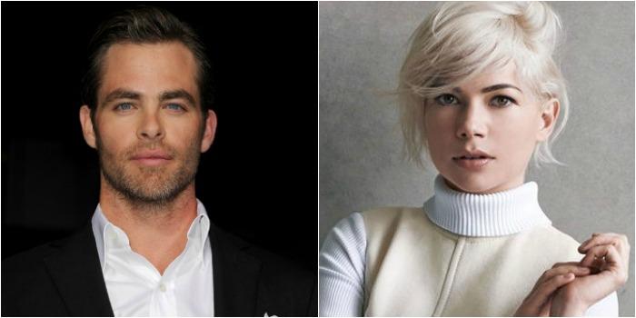 Chris Pine e Michelle Williams devem estrelar novo filme do diretor de 'A Teoria de Tudo'