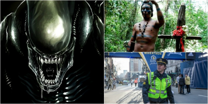 Novo 'Alien' divide espaço com 'Martírio' e 'O Dia do Atentado' em Manaus