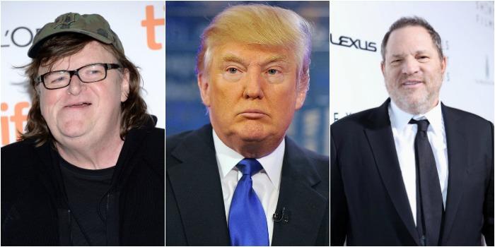 Michael Moore e Harvey Weinstein retomam parceria em documentário sobre Trump