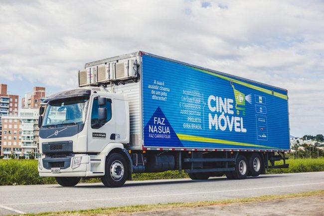 CinemóvelCarrefour começa nesta segunda-feira no Centro de Manaus