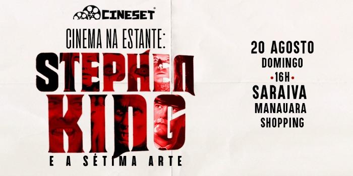 Cine Set realiza evento em Manaus sobre filmes de Stephen King