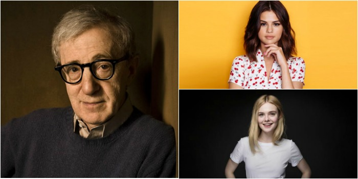 Woody Allen confirma Selena Gomez e Elle Fanning em novo filme