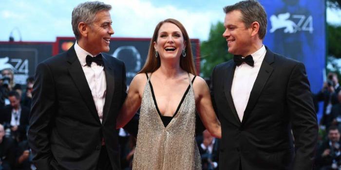 Clooney e Moore dizem estar a favor de suprimir símbolos sulistas nos EUA