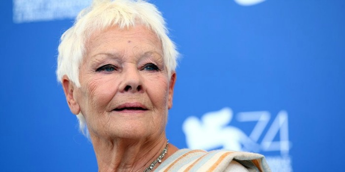 Judi Dench diz em Veneza que fazer filmes fica mais difícil com a idade