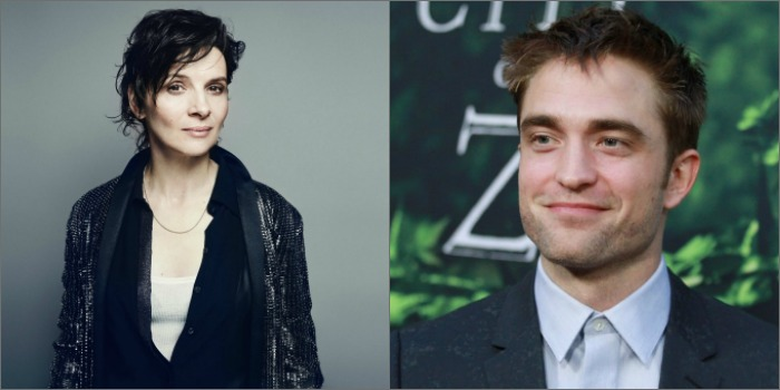 Juliette Binoche e Robert Pattinson estarão no novo filme de Claire Denis