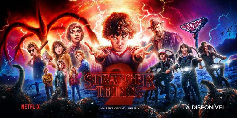 'Stranger Things' vence disputa popular do melhor do Netflix em 2017
