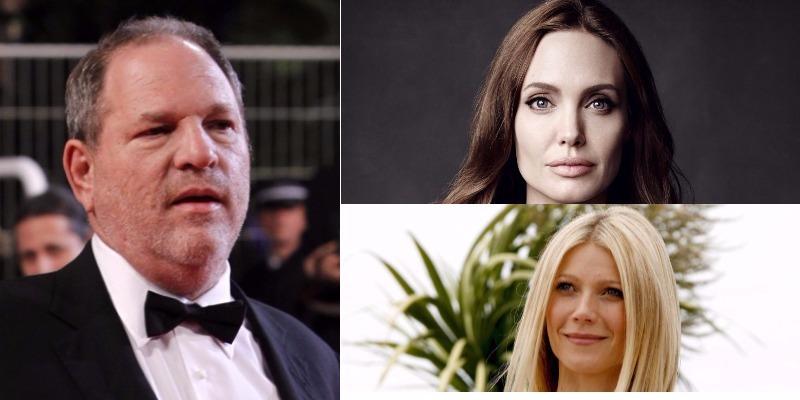 Angelina Jolie e Gwyneth Paltrow revelam ter sofrido assédio de Harvey Weinstein