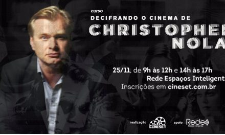 Cine Set abre inscrições do curso 'Decifrando o Cinema de Christopher Nolan'