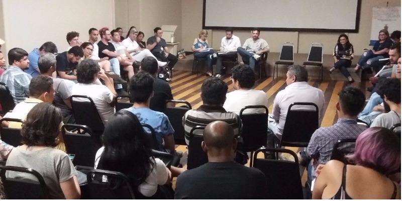 Reunião de Denilson Novo com classe do audiovisual define prioridades da nova gestão