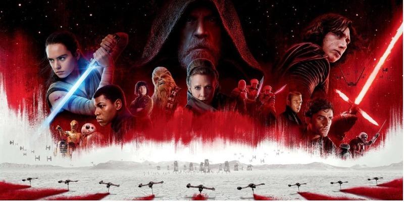 'Star Wars – Os Últimos Jedi' estreia na liderança das bilheterias do Brasil