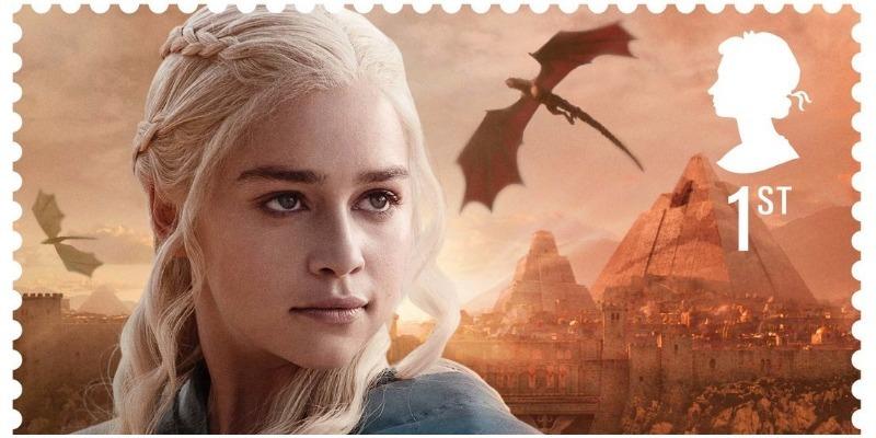 Veja a coleção de selos britânica em homenagem a 'Game of Thrones'