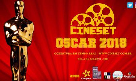 Participe do bolão do Cine Set do Oscar 2018 e concorra a pacote cheio de prêmios