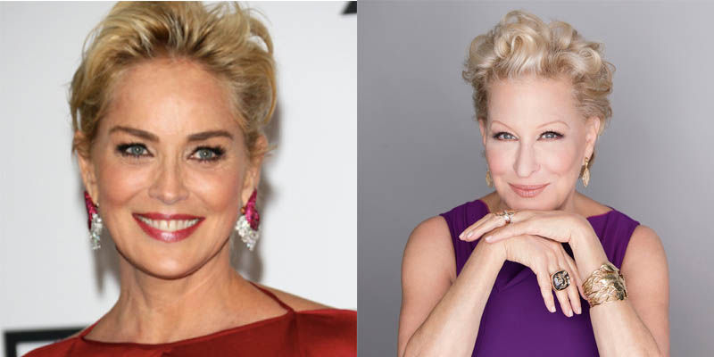 Sharon Stone e Bette Midler serão protagonistas de 'The Tale of the Allergist's Wife'