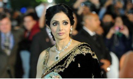 Estrela do cinema indiano, Sridevi Kapoor morre aos 54 anos