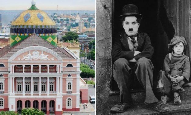 Clássico de Chaplin será exibido no Teatro Amazonas com trilha sonora ao vivo