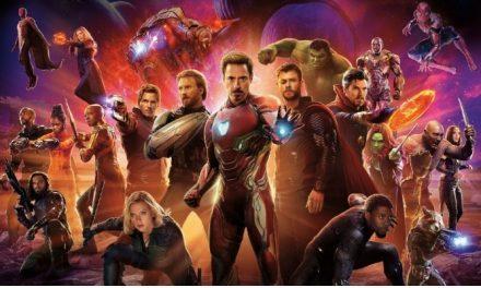 'Os Vingadores: Guerra Infinita' segue líder nas bilheterias brasileiras