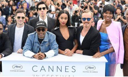 Spike Lee retorna ao Festival de Cannes e surge como favorito com 'BlacKKKlansman'
