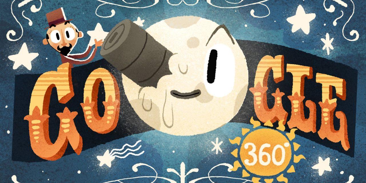 Google homenageia Georges Méliès com seu primeiro Doodle interativo em RV/360º