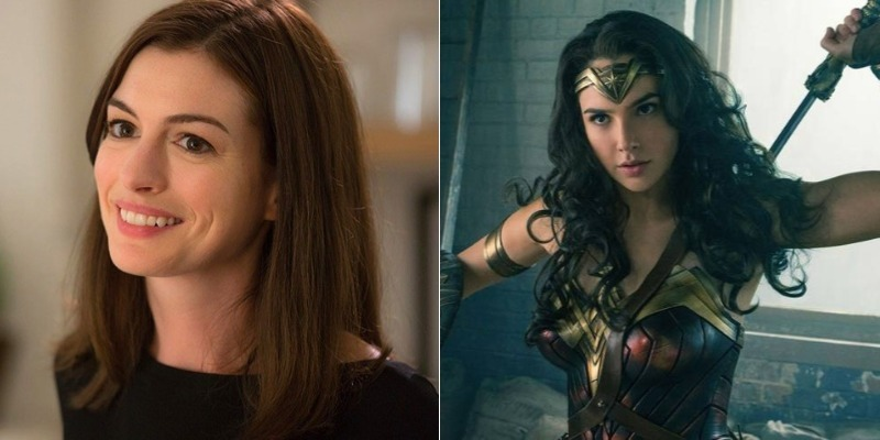 Anne Hathaway considera 'Mulher-Maravilha' fundamental para novo patamar das mulheres em Hollywood