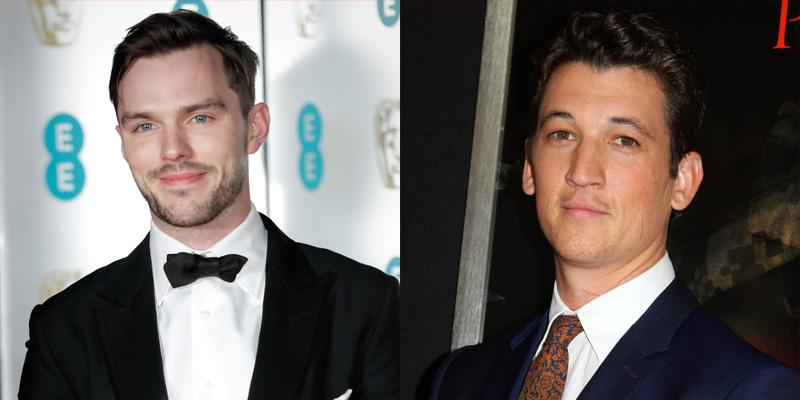 Miles Teller e Nicholas Hoult disputam personagem-chave em 'Top Gun 2'