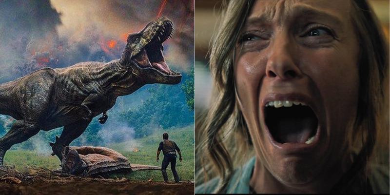 'Jurassic World' e 'Hereditário' são as grandes atrações nos cinemas de Manaus