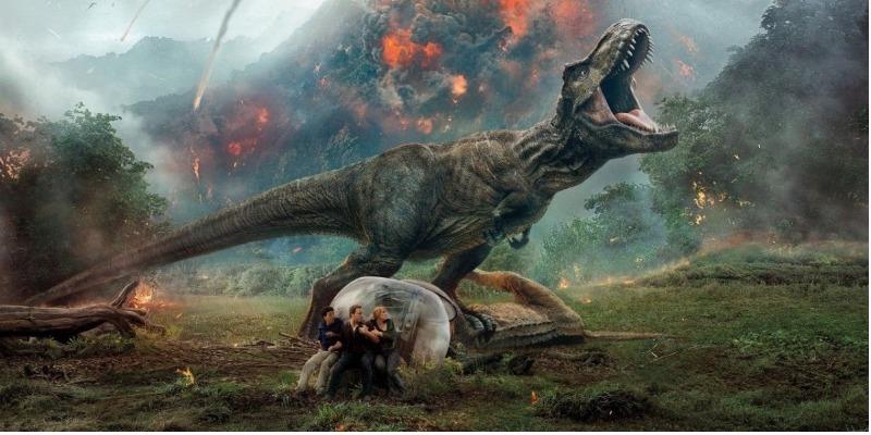 'Jurassic World: O Reino Ameaçado' alcança US$ 1 bilhão nas bilheterias mundiais