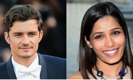 Orlando Bloom e Freida Pinto serão protagonistas do drama 'Needle in a Timestack'