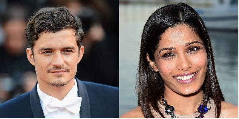 Orlando Bloom e Freida Pinto serão protagonistas do drama 'Needle in a Timestack'